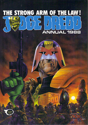 Judge Dredd Annual 1988 - Fleetway 1987 - Not Price Clipped - Very Good Cond