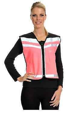 High Viisibility EN1150 Air Waistcoat (CAUTION YOUNG HORSE) IN Pink