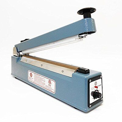 "12"" UL Bag Sealer Impulse Manual Sealer with Cutter (KF-300HC)"