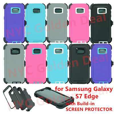 FOR SAMSUNG GALAXY S7 / S7 Edge Case with (Clip Fits