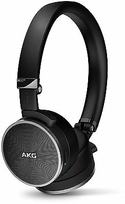 AKG N60NC Noise Cancelling Headphones with Remote & Mic Black  NEW