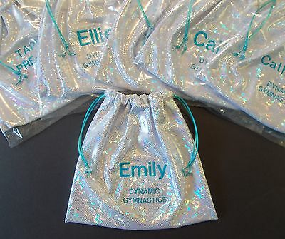 Gymnast GRIP BAG incl. PERSONALIZE w/ name GIFT match to your gymnastics leotard