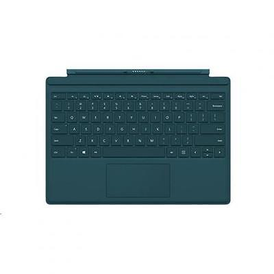 Microsoft Surface Pro 4, Teal Type Cover Keyboard w/ Backlit Keys -Compatible Wi