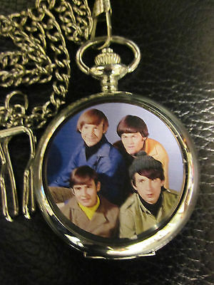 Monkees  Pocket Fob Watch  Collectable