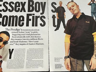 The Prodigy # 1997 Original Interview / Article # 8 Pages