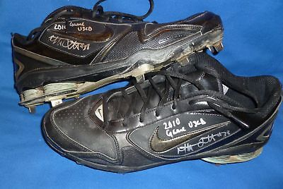 Mat Latos Signed Auto'd Padres Game Used Cleats PSA/DNA