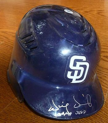 Will Venable Signed 2010 Game Used San Diego Padres Helmet PSA/DNA COA Auto'd 25