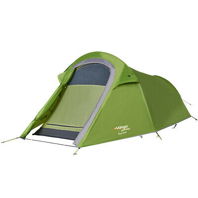 2017 Vango Soul 200 - Apple Green - 2 Person Tent (Vte-So200-M) Camping Hiking