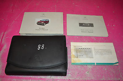 Mercedes W163 Ml 270 Cdi Auto Service History Book With Holder