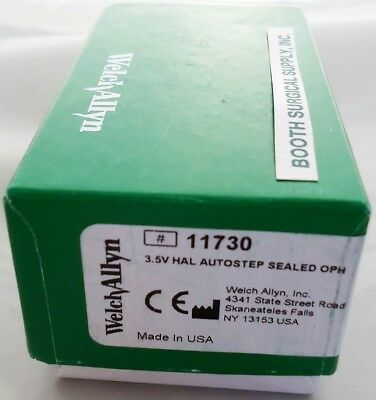 Welch Allyn 3.5V Autostep Coaxial Ophthalmoscope #11730 New/sealed!
