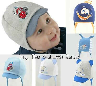 Baby Boys Toddler Spring Autumn Cotton Elastic Hat Cap Casquette newborn 24 mths