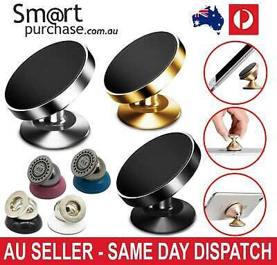 Universal Magnetic Mount Car Phone GPS Holder 360 Mobile for iPhone Samsung Sony