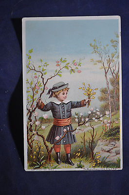 James Pyles Pearline Washing Compound Victorian Card