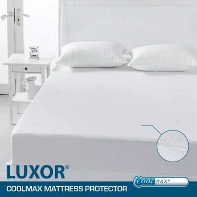 ALL Size Coolmax Fabric Fully Fitted Mattress Protector/Fitted Sheet Keep Dry