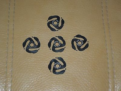 1996 The Black Crowes 3 Snakes And One Charm Promo 45RPM Record Adapter Set of 5