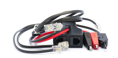 New Telephone Technical Services Pty Ltd 3 Way Butt Lead Set  Quality Made