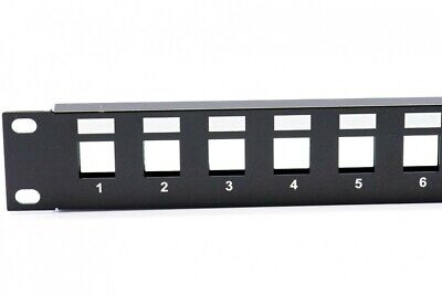 "New Telephone Technical Services Pty Ltd 24 Port 19"" Rack Mount UNEQUIPPED"