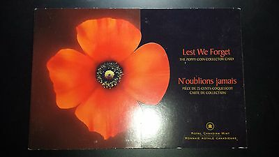 2005 Canada Uncirculated Mint Coin Set - Lest We Forget
