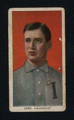 1909-11 T206 Piedmont White Borders ~ Charlie Carr ~ Indianapolis Baseball Card