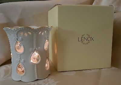 LENOX Illuminations Versailles Candle Holder with box