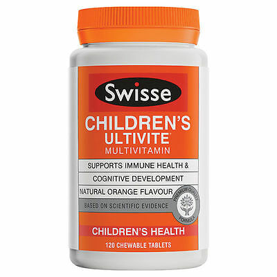 Swisse Children's Ultivite 120 Tablets