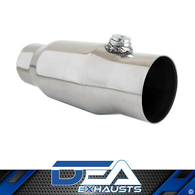 "Dea 3"" Inch 200 Cell Cpsi Metal Core High Flow Cat Converter Stainless Body"