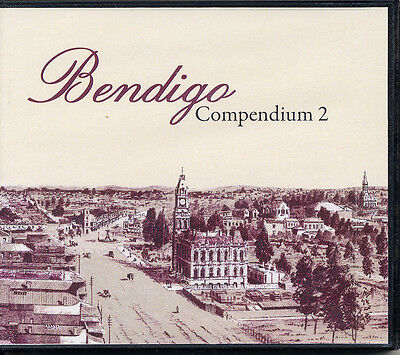 Genealogy-History of Bendigo (Victoria) Collection (13 books on 1 CD)