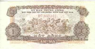 Vietnam South, 1 Dong, Nd(1963), Unc