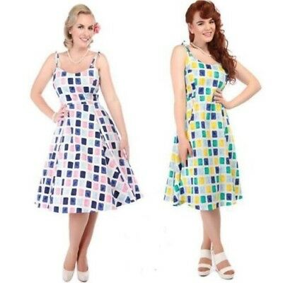 Collectif Janie Colori Erba Bambola Swing Vintage Rockabilly 50 S Pin Up 91812bbe356