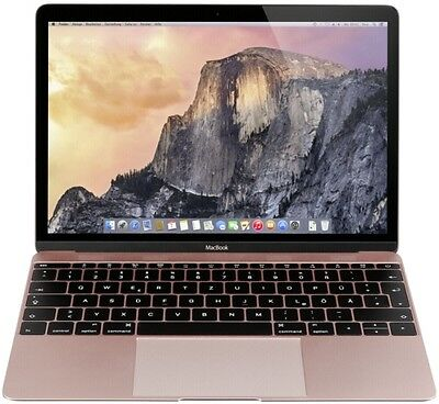 Apple MacBook 12-inch Retina 1,2GHz 8GB 512GB Rose Gold