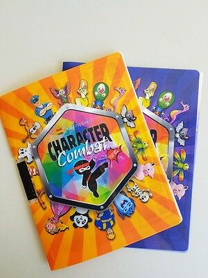 Busy Nippers Character Combat - 2 x Collectible Card Folders (1st Edn)
