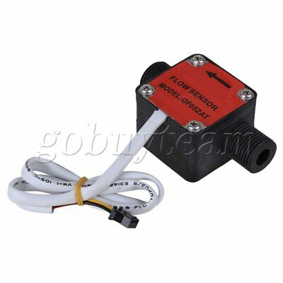 Red G1/2 Liquid Fuel Oil Flow Gear Sensor Machine Switch Meter Flowmeter