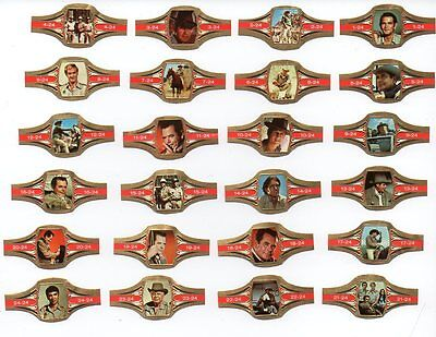 "Cigar Bands. Karel I ""Cade´s County"". Full Set, 24 bands"