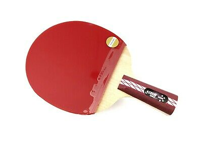 Table Tennis Ping Pong Paddle Racket 4-Star Dhs R4006 Short Handle Cs Genuine