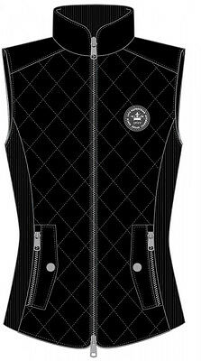 Pfiff Quilted Waistcoat 'Gympie' l Black l Large