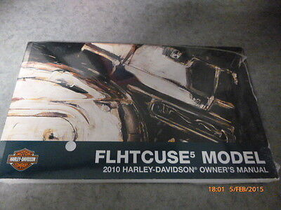 Harley Davidson Owner's Manual 2010 -FLHTCUSE5 Models - 99738-10 -BRAND NEW!!