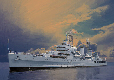 Hms Belfast - Hand Finished, Limited Edition (25)