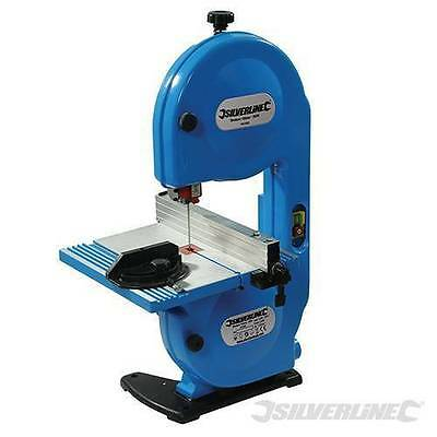 Silverline Heavy Duty 350W 190Mm Band Saw Table Saw & Blade 3Yr Warranty