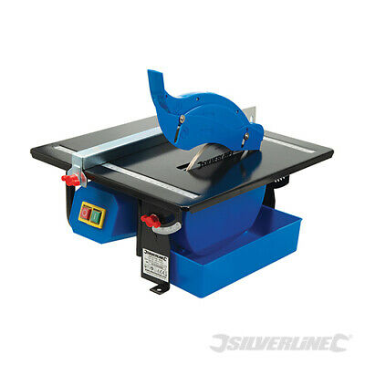 Silverline 450W Electric Tile Saw Cutter Floor Wall Tile Cutting Machine New
