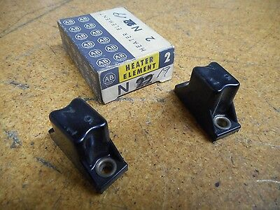 Allen Bradley N19 Thermal Overload Heater Elements New Old Stock (Lot of 2)