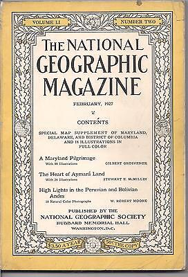 national geographic-FEB 1927-HIGH LIGHTS IN THE PERUVIAN AND BOLIVIAN ANDES.