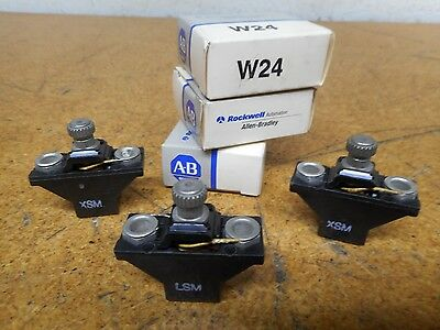Allen Bradley W24 Thermal Overload Relay Heater Elements New In Box (Lot of 3)