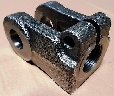 "Cylinder Rod End Clevis / Universal Fit For Many 2"" To 4"" Bore Cylinders"