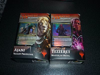 Magic the Gathering Aether Revolt Planeswalker Deck Ajani oder Tezzeret