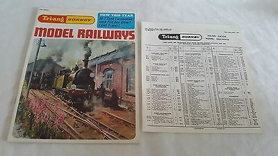 Triang Hornby Railways No.13 Catalogue With Price List In Mint Condition