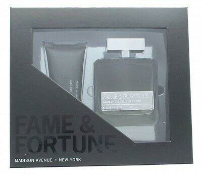 Fame & Fortune Gift Set 100Ml Edt + 100Ml Shower Gel - Men's For Him. New