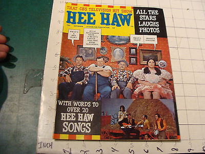 vintage mag: HEE HAW issue #3, Sept 1970, 68pgs, some light wear on this one