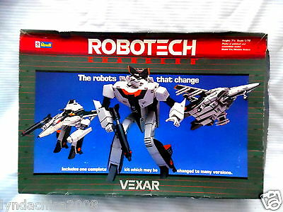 Vintage ROBOTECH CHANGERS By Revell