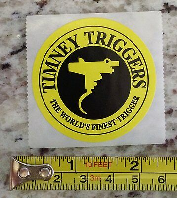 """2"""" Timney Triggers USA Sticker Tactical Gear Decal Stocks Guns Rifle Holsters"""
