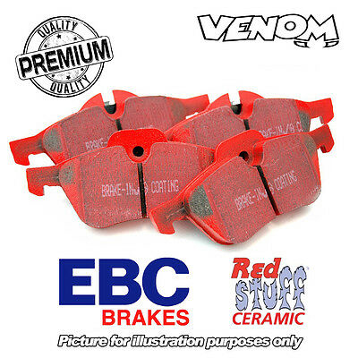 EBC Redstuff Rear Brake Pads for Subaru Impreza 2.5 Turbo WRX (05-07) DP3826C
